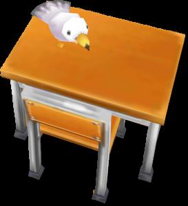 茶熊学園復刻2015カモメの机