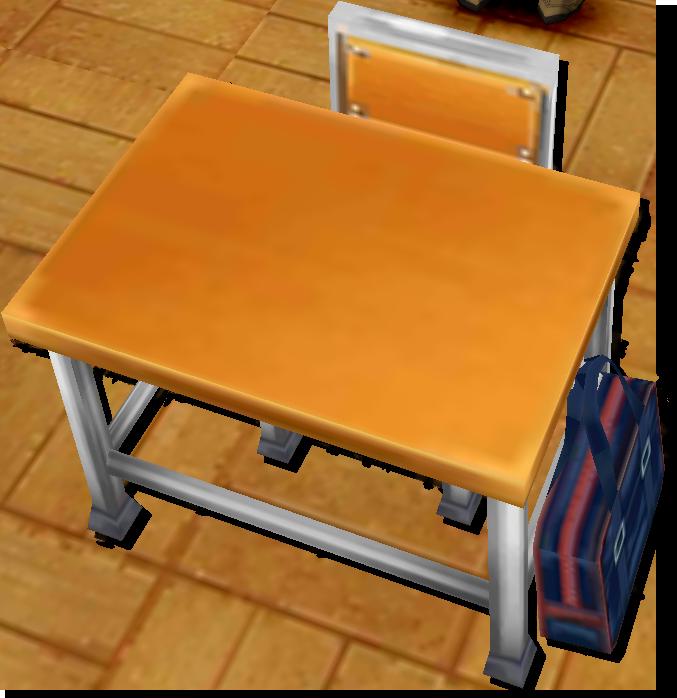 茶熊学園復刻2015ソウマの机