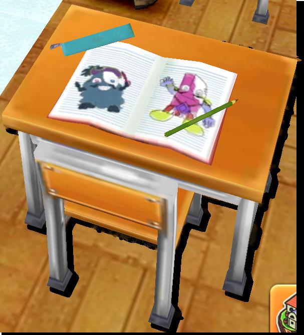 茶熊学園復刻2015ソフィの机