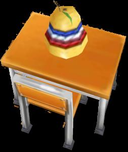 茶熊学園復刻2015フランの机