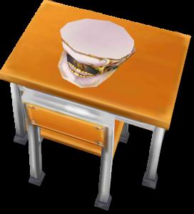 茶熊学園復刻2015ヴィルフリートの机