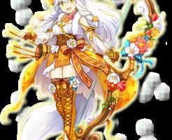 【白猫】アルティミシア×カフェオーレ(弓)白黒グリココラボ