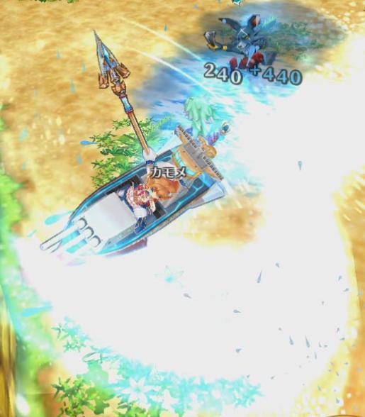 【白猫】カモメリベンジ戦艦ライダー_竜(ドラゴンライダー)スキル1a