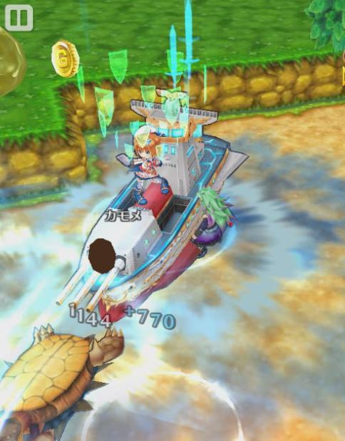 【白猫】カモメリベンジ戦艦ライダー_竜(ドラゴンライダー)スキル2b