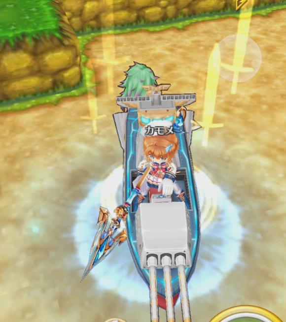 【白猫】カモメリベンジ戦艦ライダー_竜(ドラゴンライダー)スキル2c