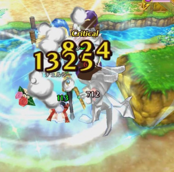 【白猫】チェルシーリベンジ杖(魔道士)スキル2c