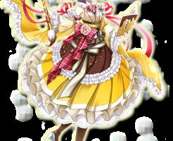 【白猫】ミコト×プッチンプリン(剣士)白黒グリココラボ