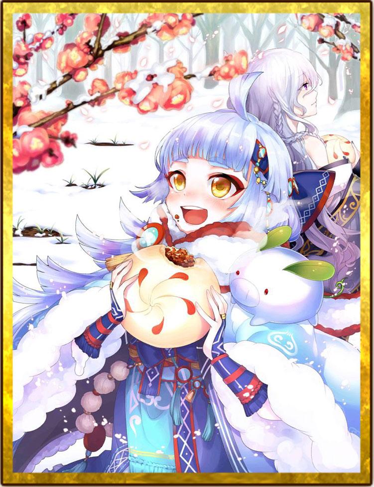 【白猫】ロッカ神気解放覚醒絵イラスト