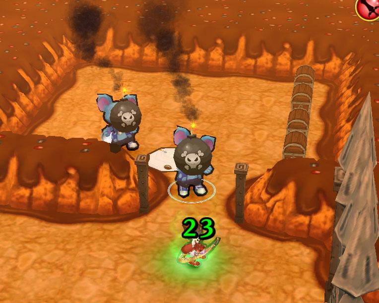白猫×黒猫×グリココラボ協力バトル★10_幸せ満点!チョコマウンテン!_攻略3