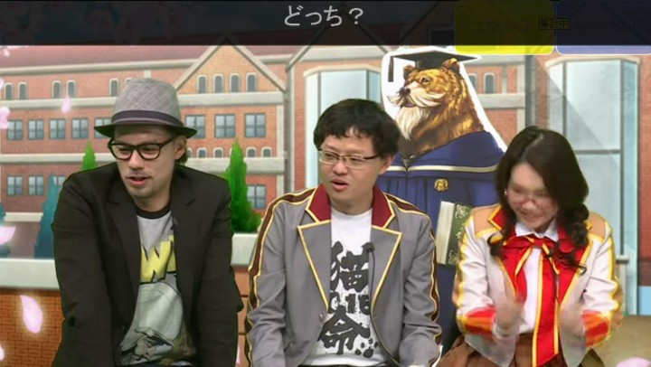 【白猫】ニコ生20163月23日_茶熊学園2016027