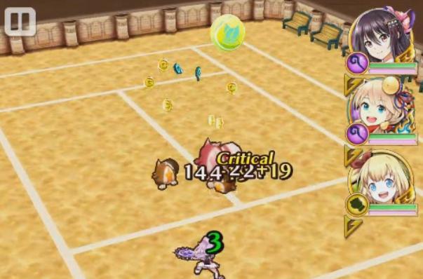 【白猫】テニスのルーン初級ドロップ