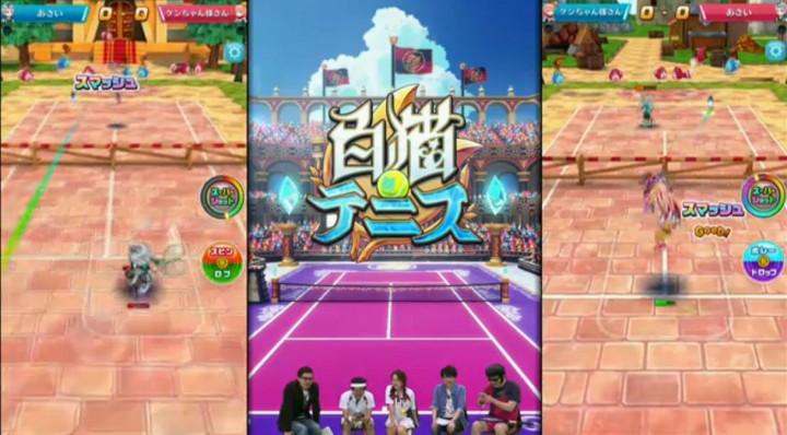 【白猫】ニコ生5月26日テニス19