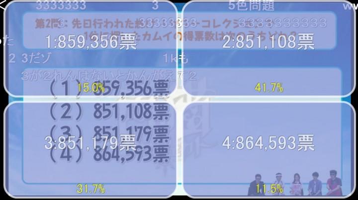 【白猫】ニコ生5月26日x2