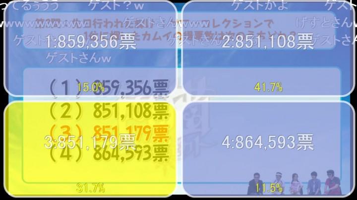 【白猫】ニコ生5月26日x3