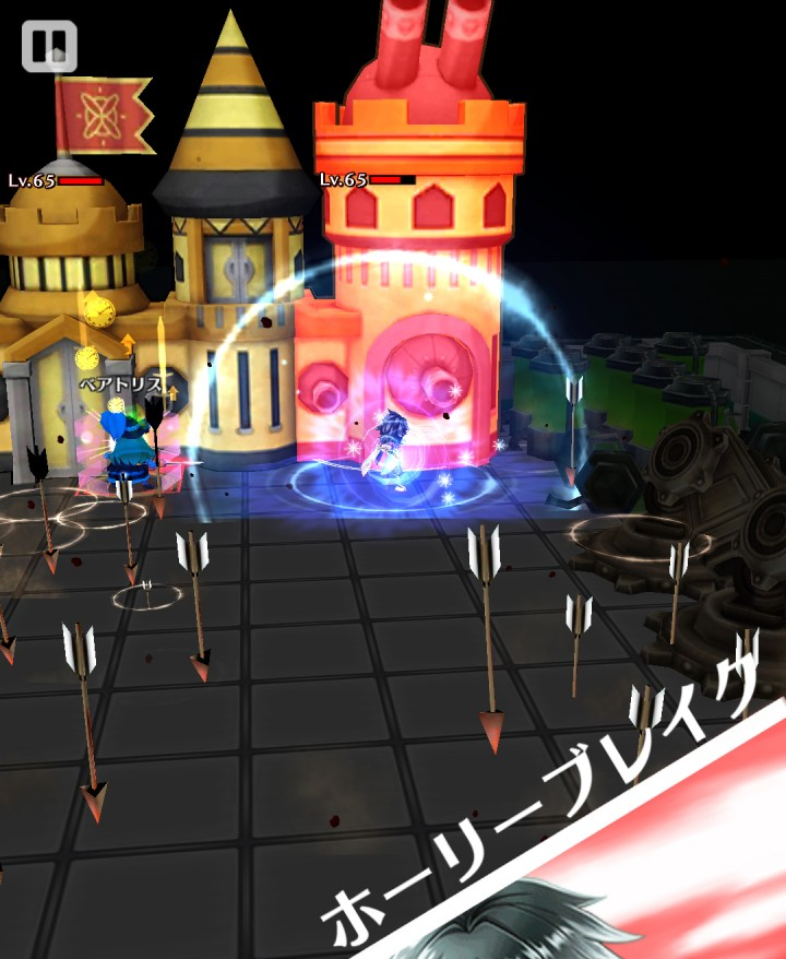 【白猫】ベアトリスイベント_マスク・オブ・ローズ破滅級攻略1