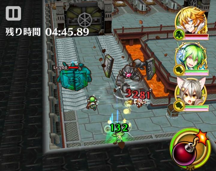 【白猫】Mission-in-Factory(ミッションインファクトリー)星13攻略1