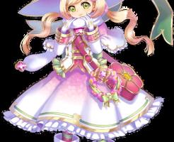 【白猫】プリムラ弓(魔法学園):立ち絵イラスト